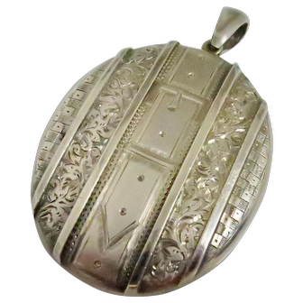 Victorian Locket --A Favorite Buckle Design