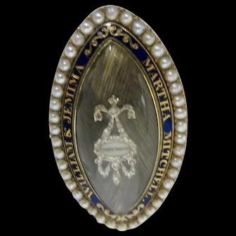 Amazing Memorial Brooch