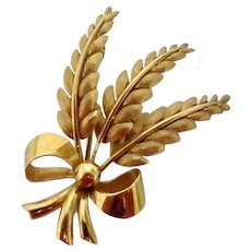 Vintage 18K Gold Tiffany Brooch