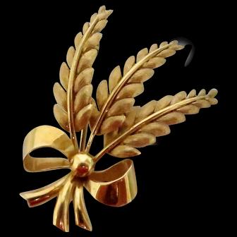 Vintage 18K Gold Tiffany Brooch