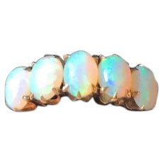 Dazzling Victorian Opal Ring