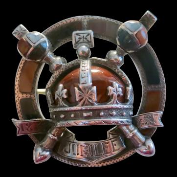 Queen Victoria Golden Jubilee Brooch