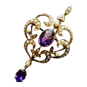 Stunning Victorian Pendant/Brooch