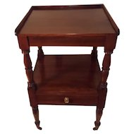 Early 19th Century New England Cherry Sheraton Stand