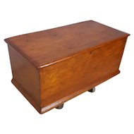Late 18th Century Pine Dovetailed Blanket Chest
