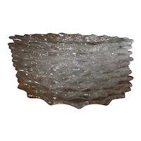 "American Fostoria Glass 7.5"" Salad Plates"
