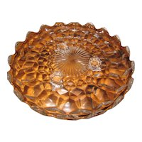 American Fostoria Footed Serving Plate