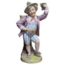 German Porcelain Figural Match Holder