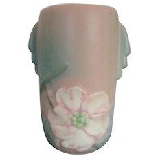 Weller Pottery Wild Rose Vase
