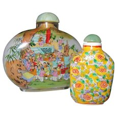 Small Oriental Snuff Bottle