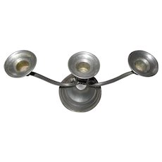 Salem Pewter 3 Candle Candelabra