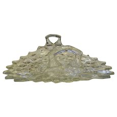American Fostoria Crystal 2 Handled Flared Serving Dish