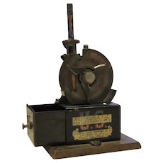 Automatic Pencil Sharpener Mfg Chicago IL Patents Pending Oct 1906 - 1907 Mechanical