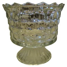 American Fostoria Crystal Serving Compote Bowl