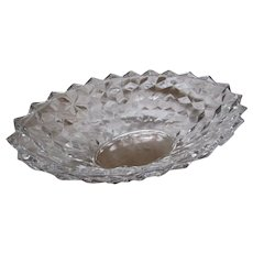 """American Fostoria Crystal LArge 11"""" Oval Serving Bowl"""