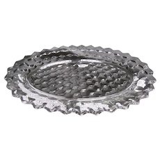 """American Fostoria Crystal 11"""" Oval Serving Tray Plate"""