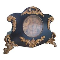 Cast Iron Ormolu Ansonia Mantle Clock