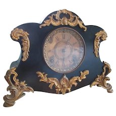 Cast Iron Ormolu Ansonia Mantle Clock