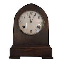 Waterbury Company Beehive Mantle Shelf Clock