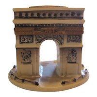 Arc de Triomphe Paris France Limoges Marque Deposee Hand Painted Box