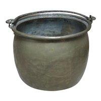 Brass Kitchen Bucket Cauldron