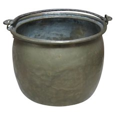 Brass Kitchen Bucket Cauldron