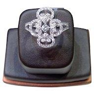 Gorgeous .78 Carat Diamond Cocktail Ring