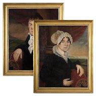 Zedekiah Belknap (1781-1858) Pair of Portraits
