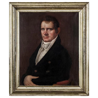 Micah Williams (1782-1832) Portrait of a Gentleman