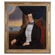 William Matthew Prior (1806 - 1873) Portrait of a Ship's Pilot