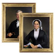 R. B. Crafft (1809 - 1877) Pair of Portraits