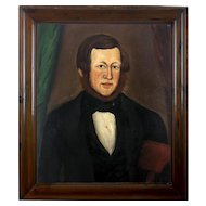 William W Kennedy Portrait of a Gentleman