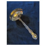 Alvin Sterling Silver Gravy Ladle French Scroll Pattern