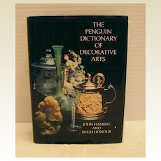 """Book: """"The Penguin Dictionary of Decorative Arts"""",  Fleming & Honour"""