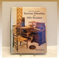 "Book: ""Price Guide to Victorian, Edwardian and 1920's Furniture"", John Andrews"