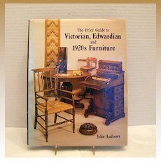 """Book: """"Price Guide to Victorian, Edwardian and 1920's Furniture"""", John Andrews"""