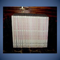 "Reference Book Set ""Discovering Antiques: World Antiques"", Complete in 20 Volumes"