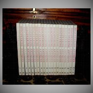 """Reference Book Set """"Discovering Antiques: World Antiques"""", Complete in 20 Volumes"""
