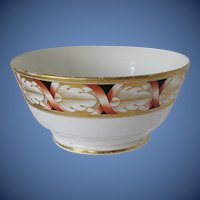 Antique English Waste Bowl, Coalport,  Early 19th C