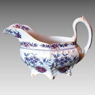 Rare Ridgway Creamer, Stone China, Antique Early 19th C English Chinoiserie