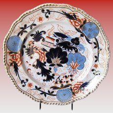 Grainger, Lee & Co. Worcester Plate, Antique Early 19th C English Imari