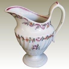 Rare Keeling (Factory X)  Porcelain Cream Jug, Antique 18th C English