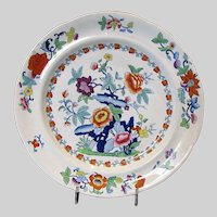 Antique Ridgway Plate, English Chinoiserie,  Early 19th C