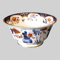 Antique Joseph Machin Small Bowl, English Imari, Early 19th C