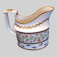 """Antique Minton """"First Period"""" Creamer, Pattern 73, Early 19th C"""