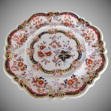 Hicks, Meigh & Johnson Stone China Stand, Antique Early 19th C English Imari