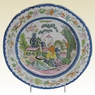 "Antique Mason's Ironstone ""Mogul"" Plate,  c 1815"