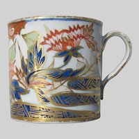 "Antique Coalport Coffee Can, ""Finger and Thumb"" Imari Pattern, c 1800"