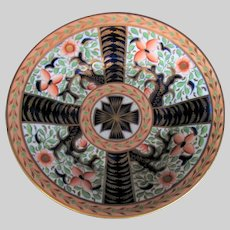 "Antique Coalport Dish, ""Maltese Cross"" Pattern 835, Thomas Rose, Early 19th C"