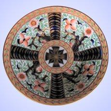 "Rare Coalport Dish, ""Maltese Cross"" Pattern 835, Anstice, Horton & Rose, Early 19th C"